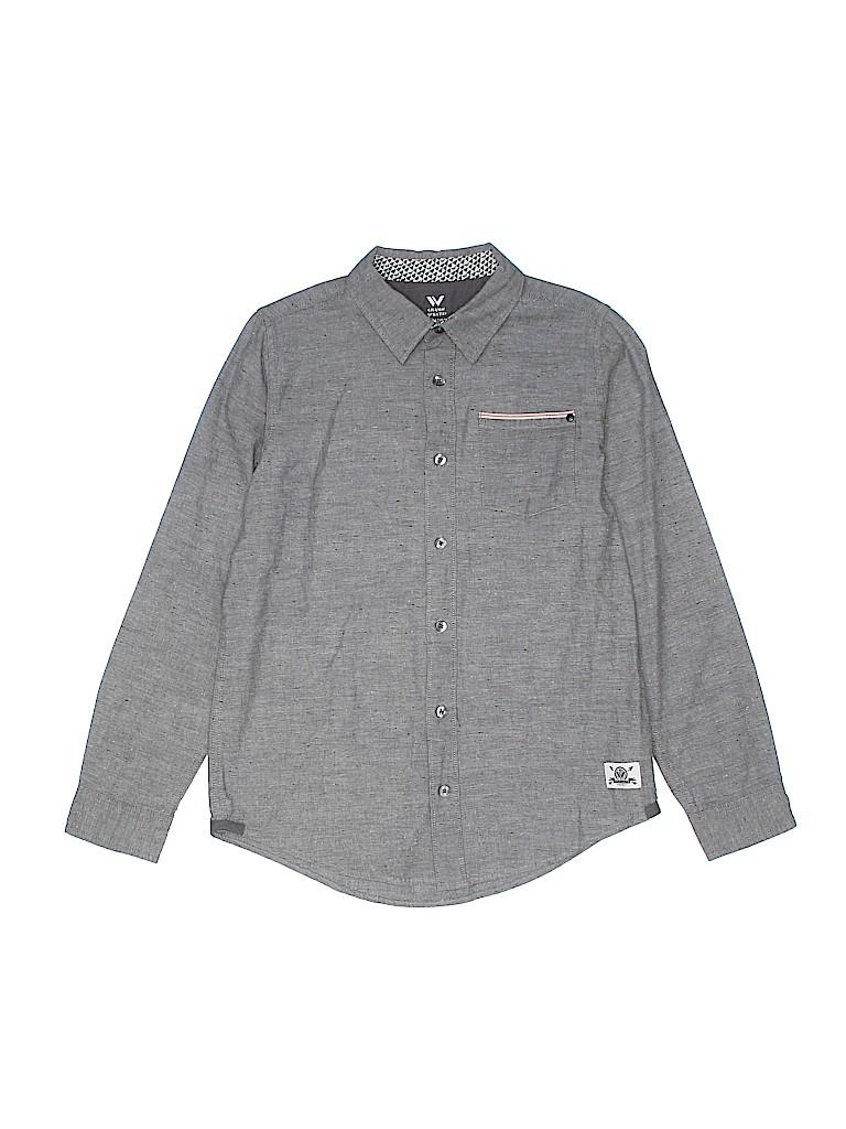 Shaun White Boys Long Sleeve Button-Down Shirt Size 12 - 14