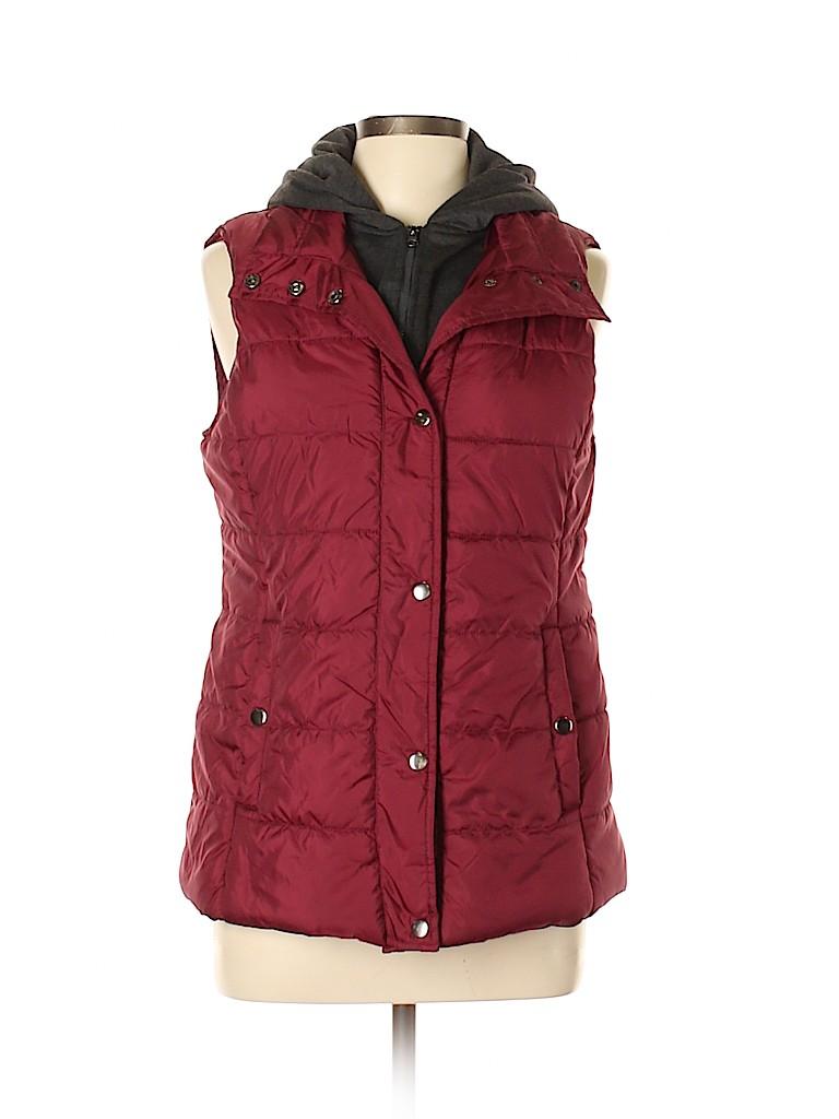 Arizona Jean Company Women Vest Size L