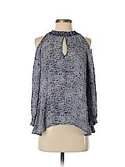 10 Crosby Derek Lam Long Sleeve Silk Top