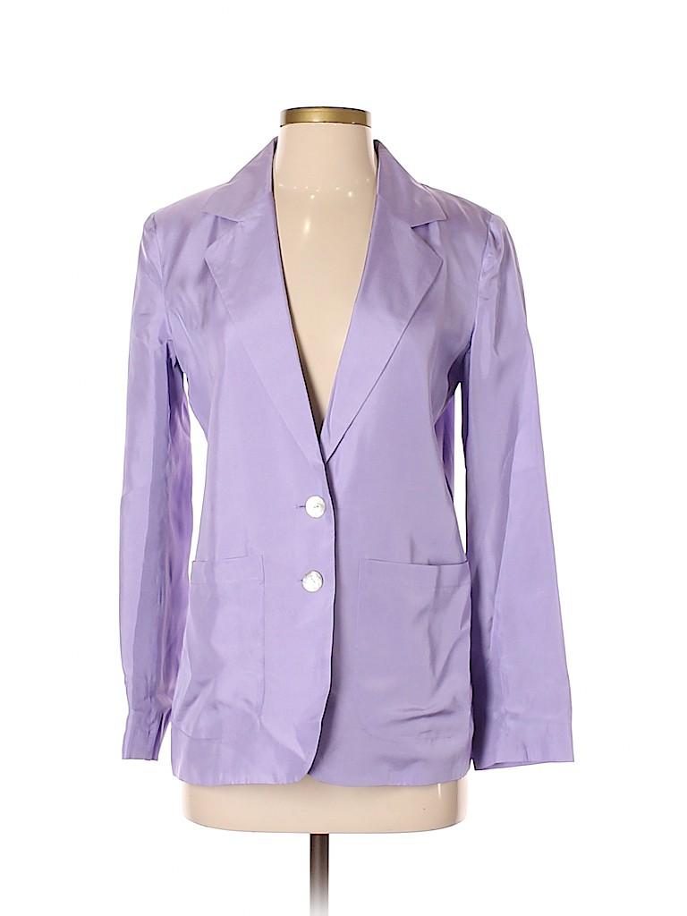 Winter Silks Women Silk Blazer Size XS