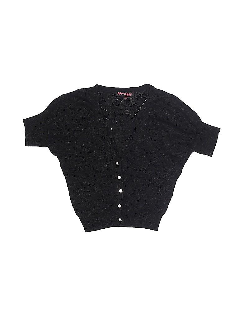 Betsey Johnson Girls Cardigan Size S (Kids)