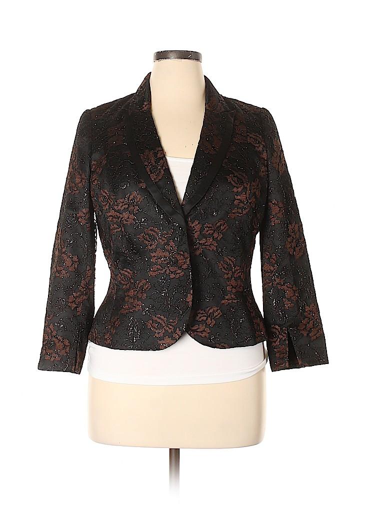 Carmen Marc Valvo Collection Women Blazer Size 14