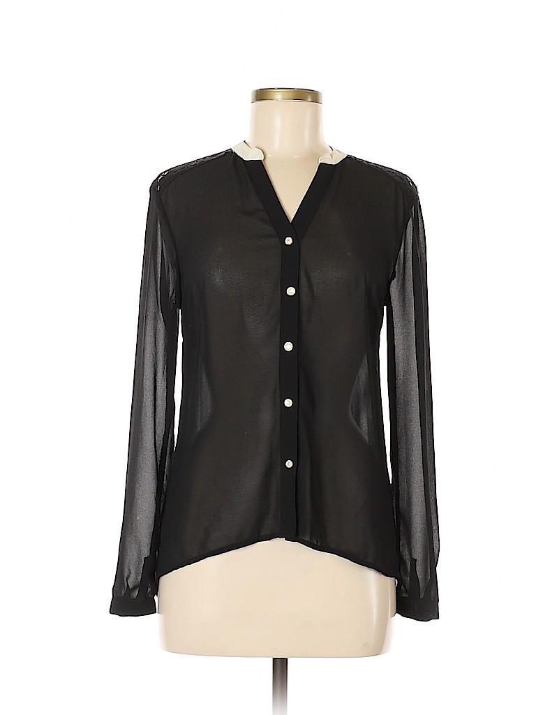 Chloe K Women Long Sleeve Blouse Size XS