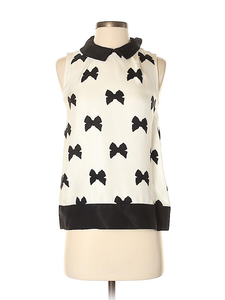 Kate Spade New York Women Sleeveless Blouse Size XS