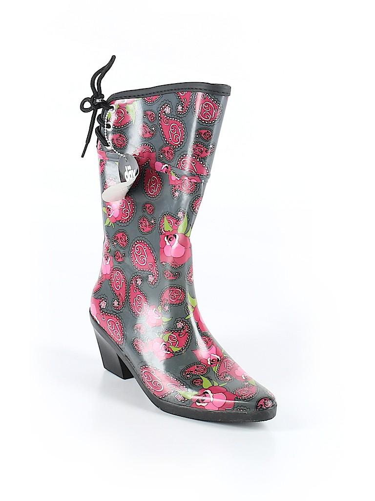 Dav Women Rain Boots Size 6