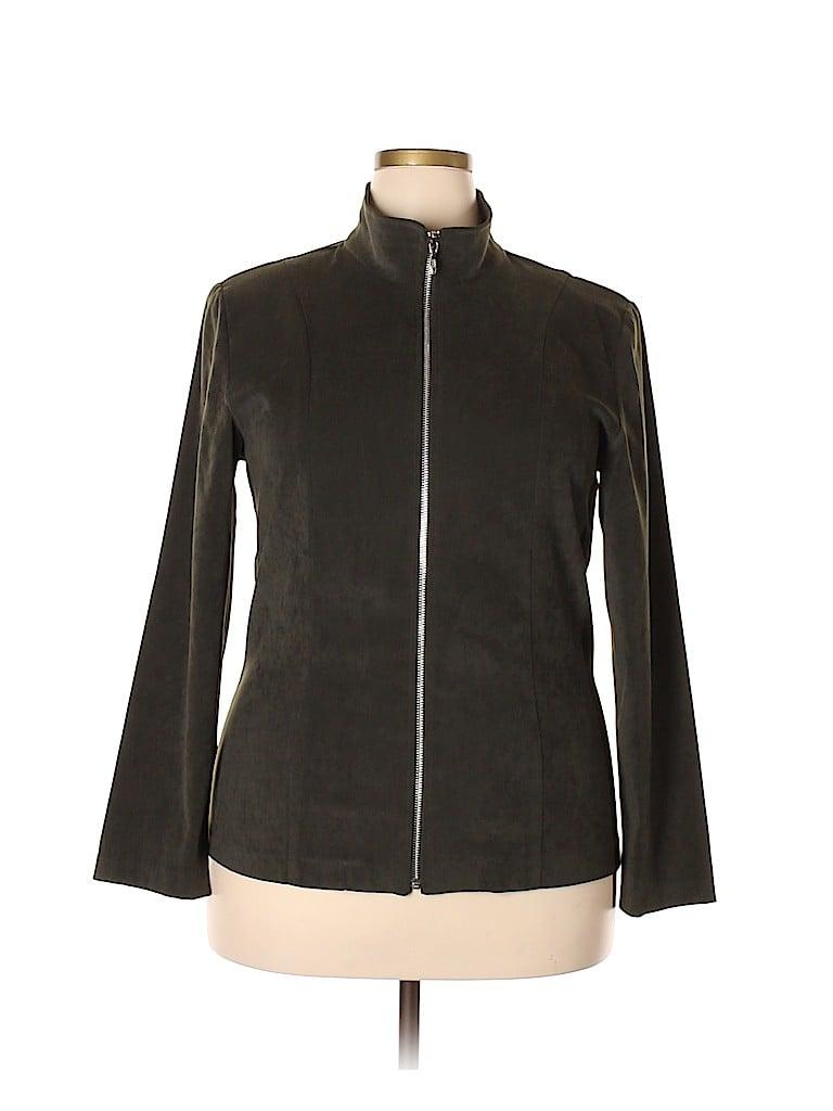 DressBarn Women Jacket Size 1X (Plus)