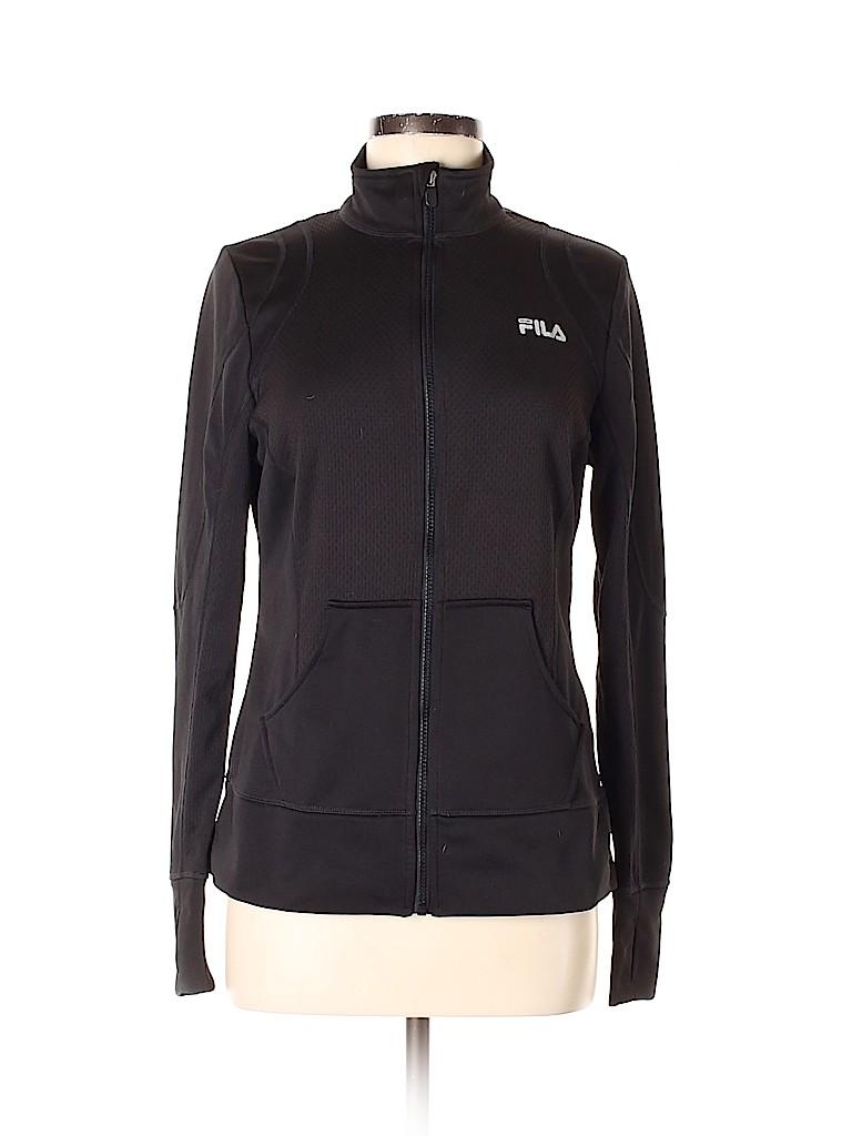 Fila Sport Women Track Jacket Size M
