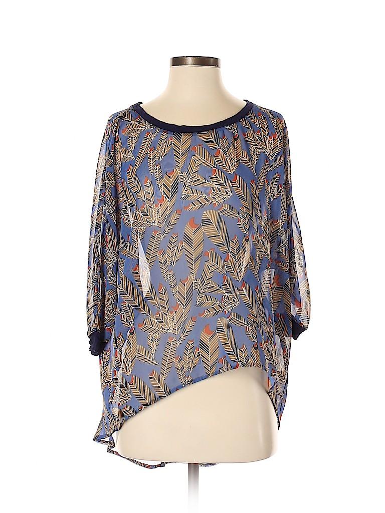 Chloe K Women 3/4 Sleeve Blouse Size XS
