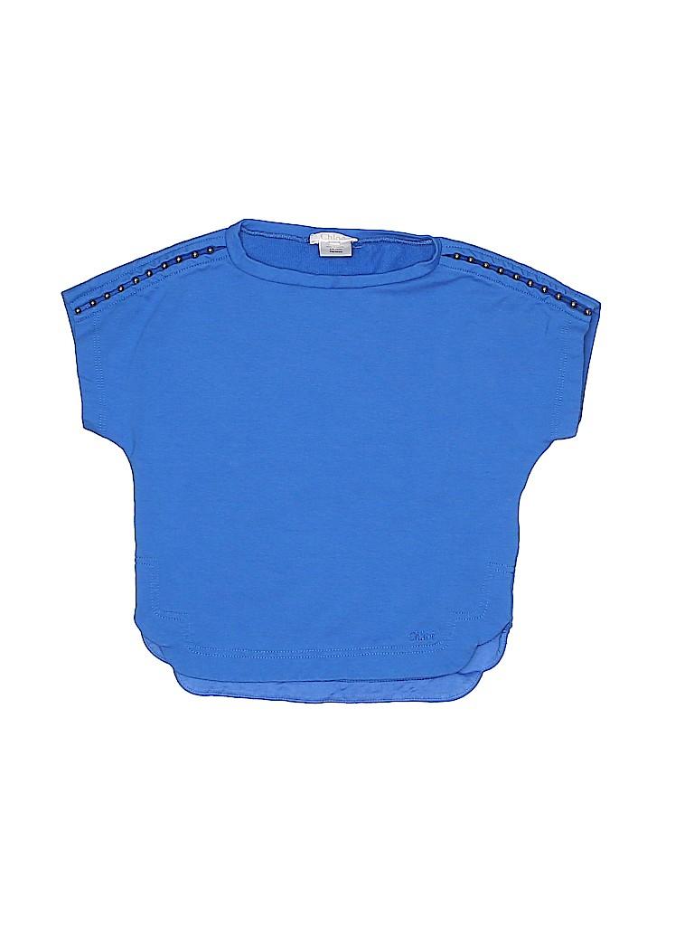 Chloé Girls Short Sleeve Top Size 3