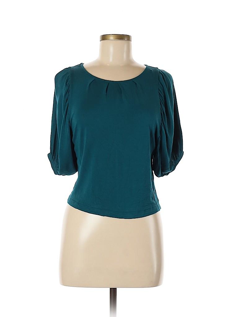 Design History Women 3/4 Sleeve Top Size XS