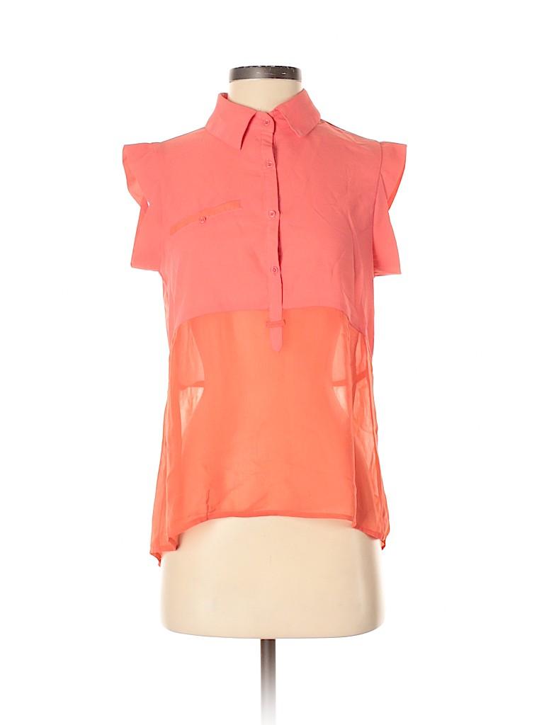 Esley Women Short Sleeve Blouse Size S
