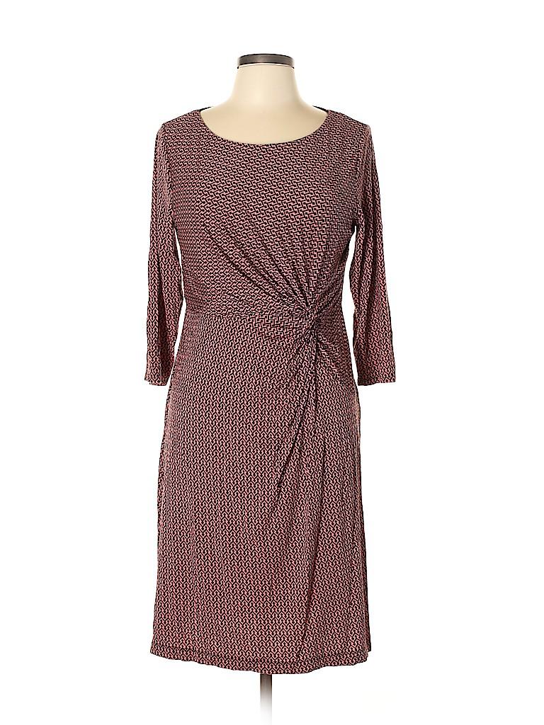 Dana Buchman Women Casual Dress Size L