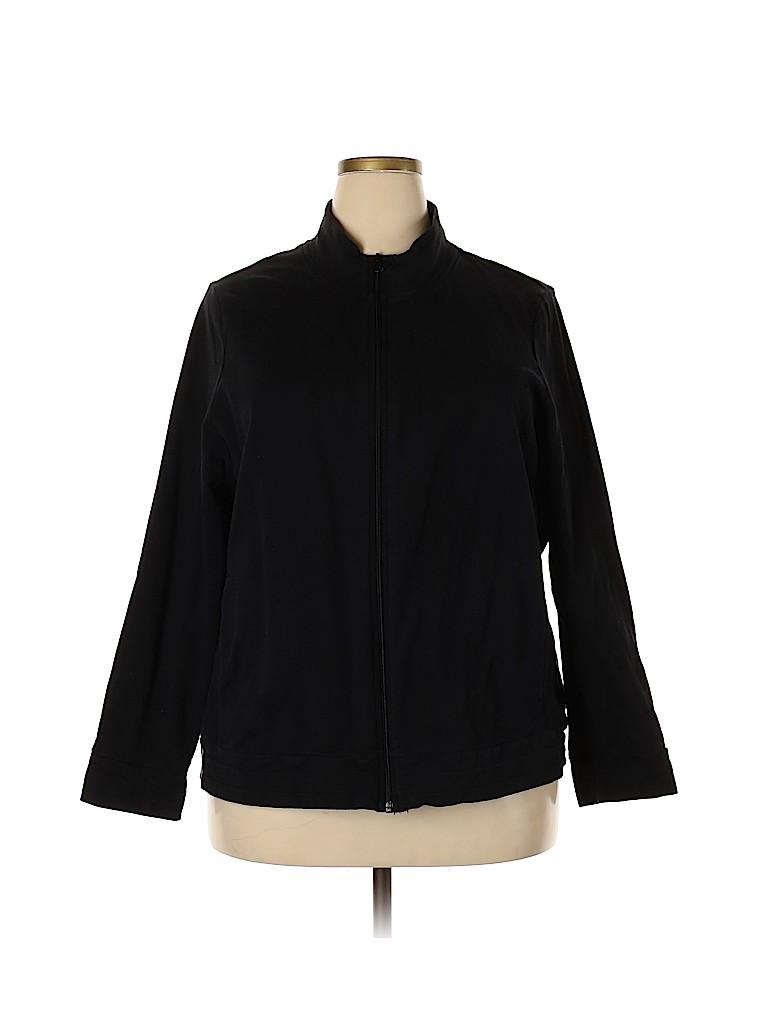 Croft & Barrow Women Jacket Size 3X (Plus)