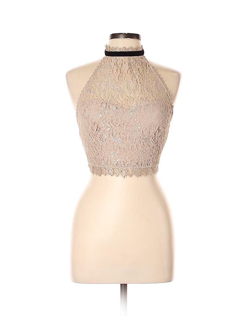Free People Women Sleeveless Blouse Size 8
