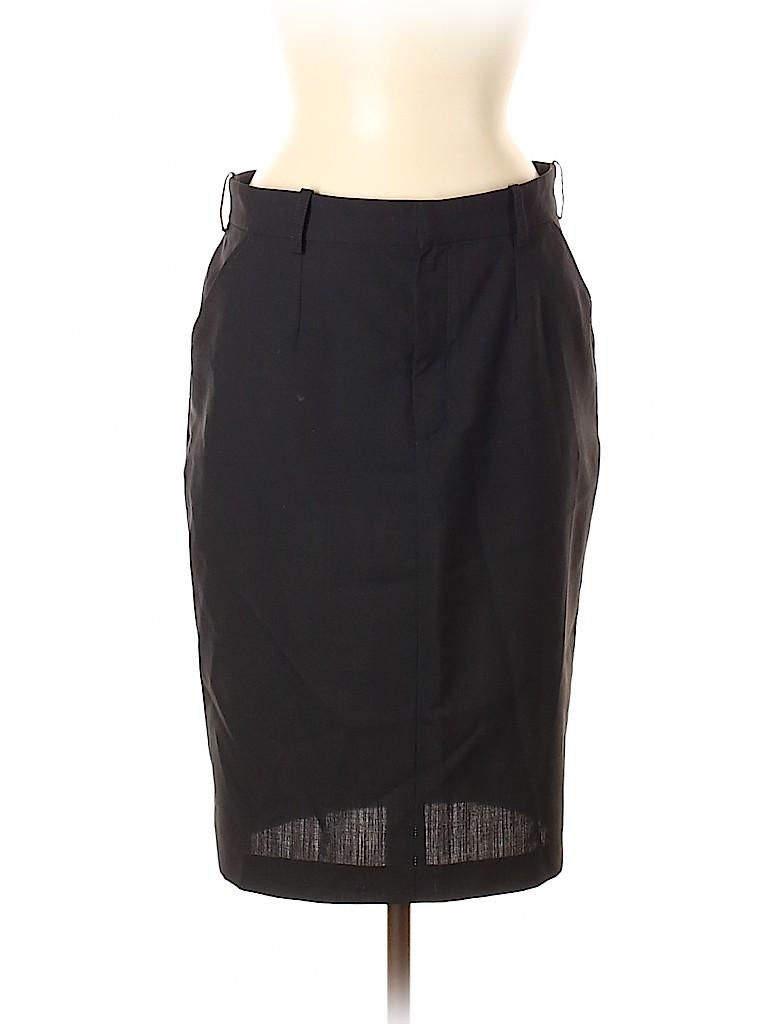 Balenciaga Women Wool Skirt Size 38 (IT)