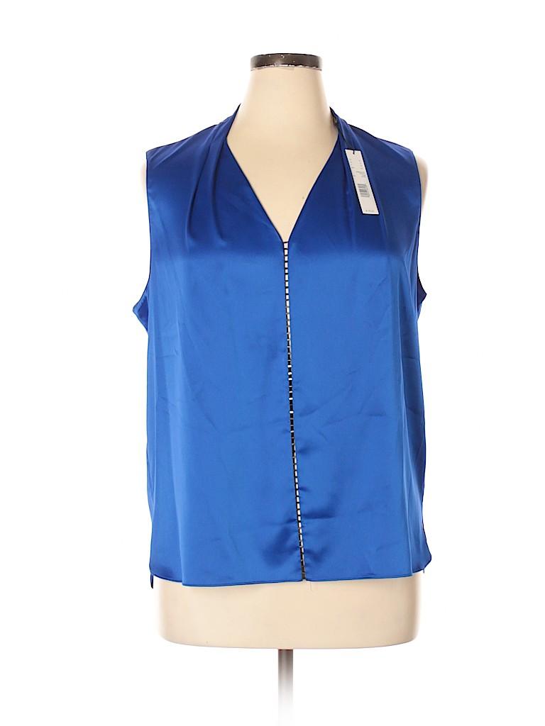 Tahari Women Sleeveless Blouse Size XL