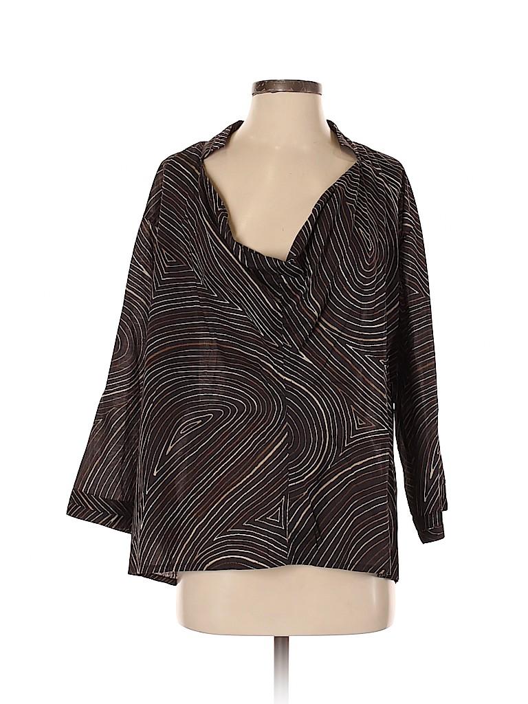 Bottega Veneta Women 3/4 Sleeve Blouse Size 40 (IT)