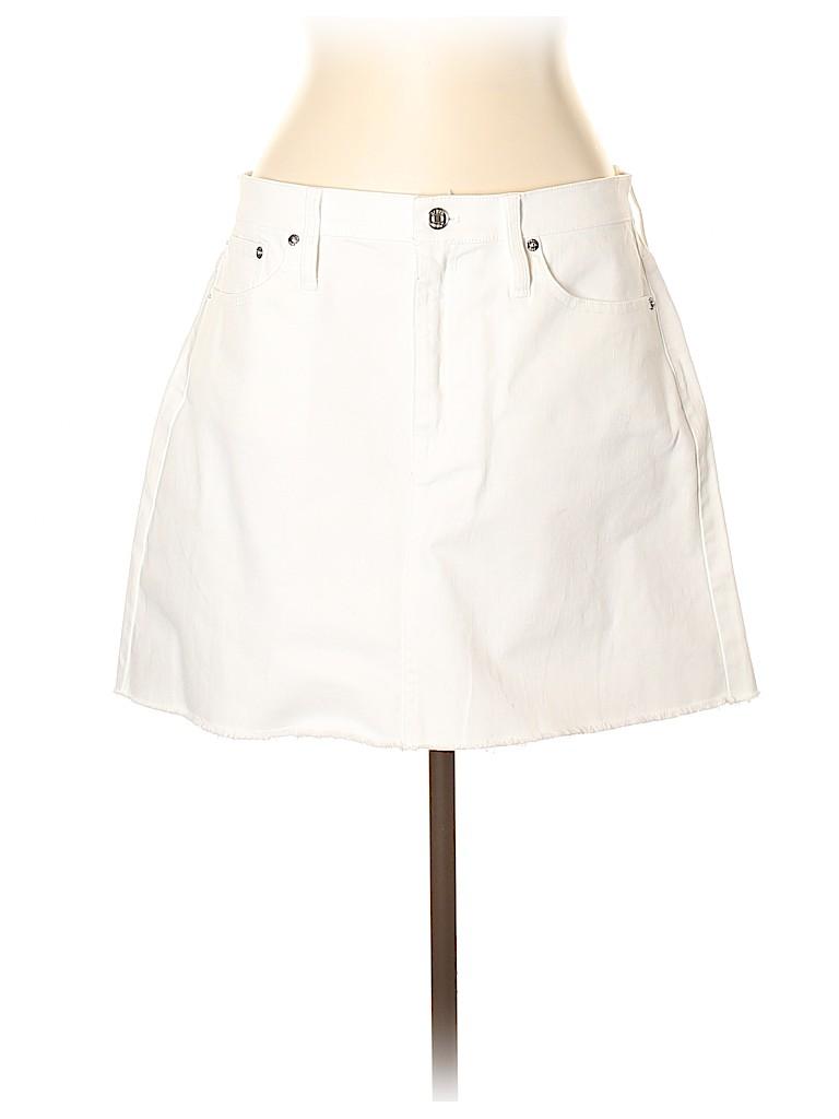 J. Crew Women Denim Skirt 32 Waist