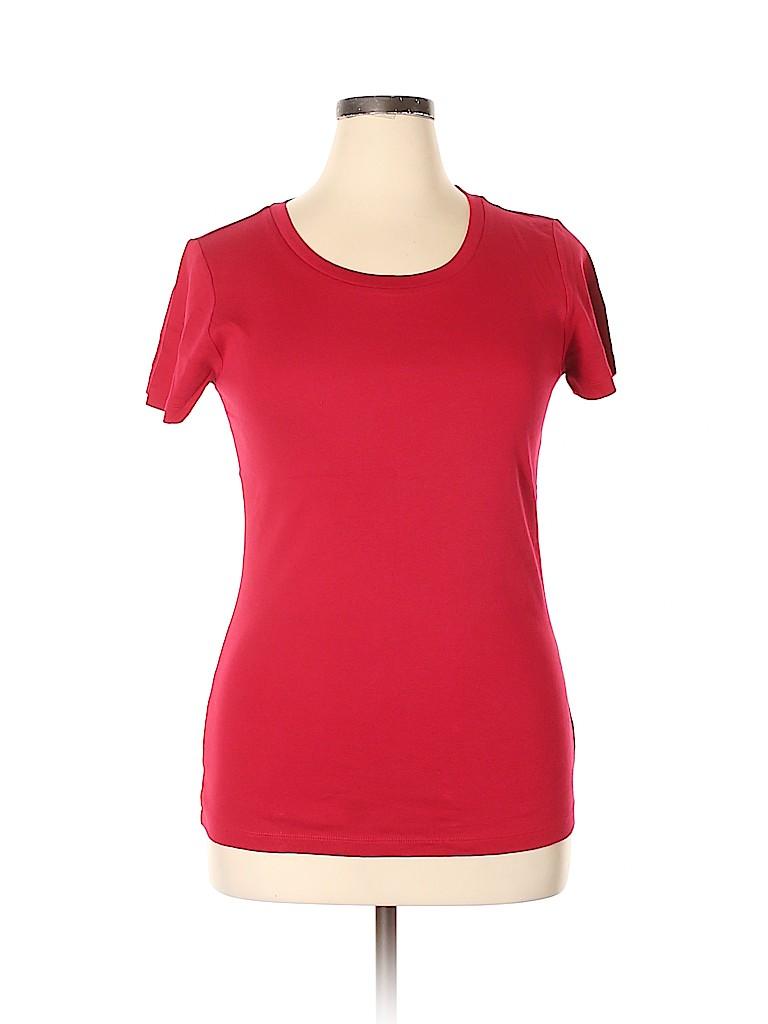 Talbots Outlet Women Short Sleeve T-Shirt Size XL