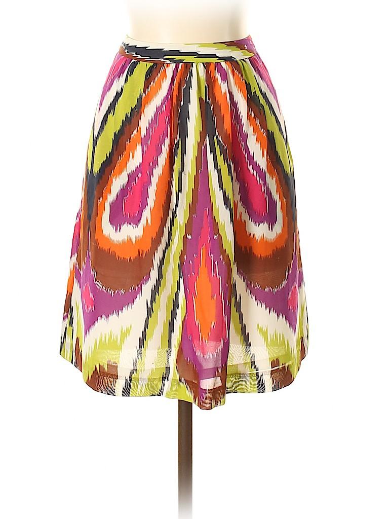 Trina Turk Women Silk Skirt Size 4