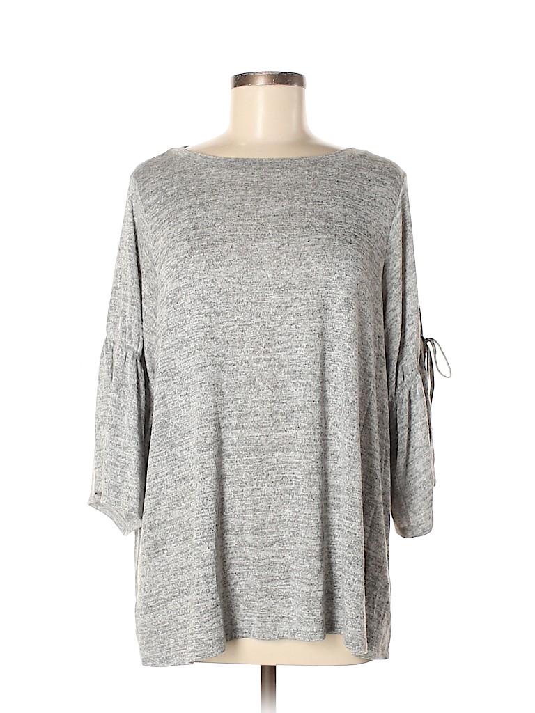 Ann Taylor LOFT Women 3/4 Sleeve Top Size L
