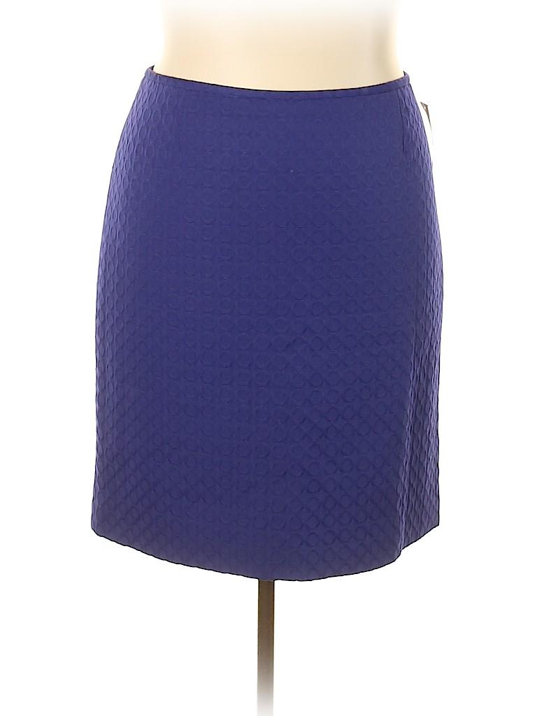 Tahari by ASL Women Casual Skirt Size 18 (Plus)