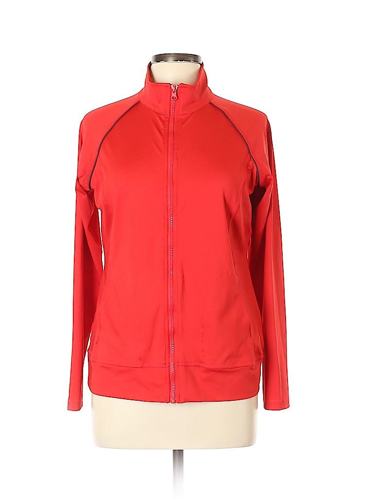 Danskin Now Women Track Jacket Size L