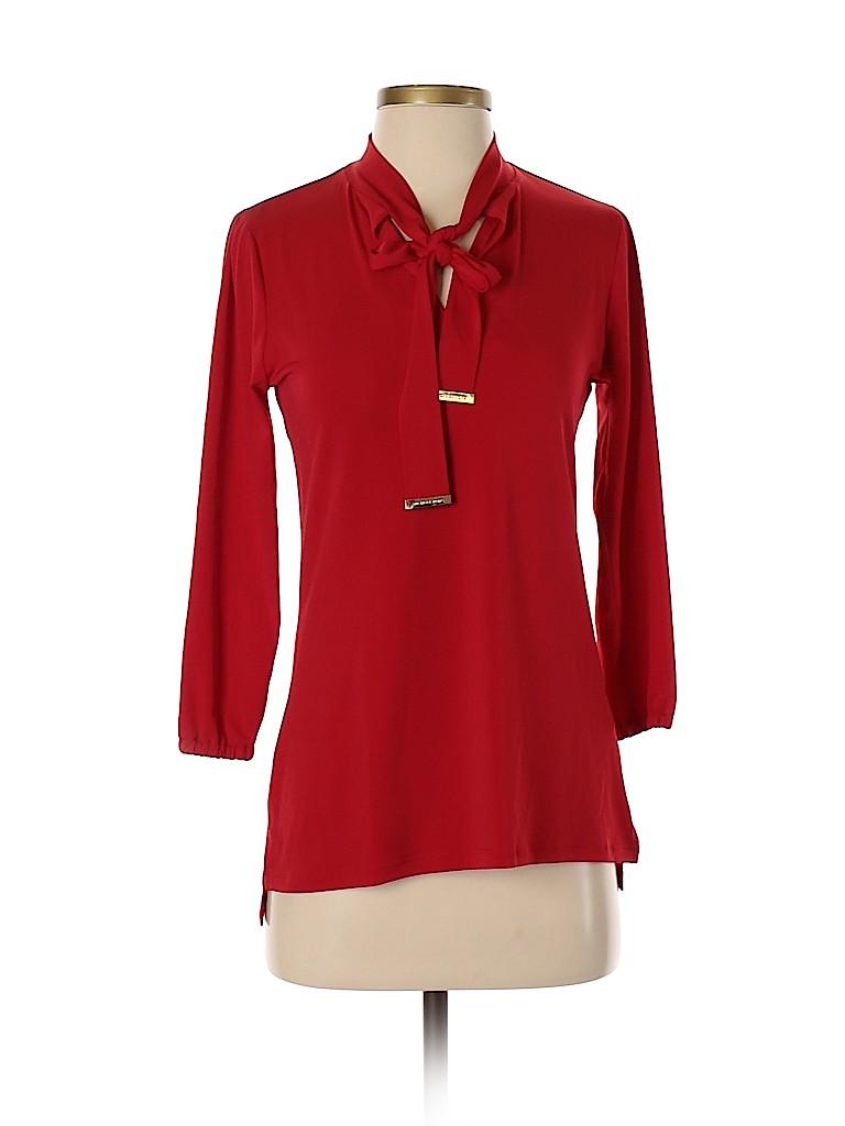 MICHAEL Michael Kors Women 3/4 Sleeve Blouse Size XS