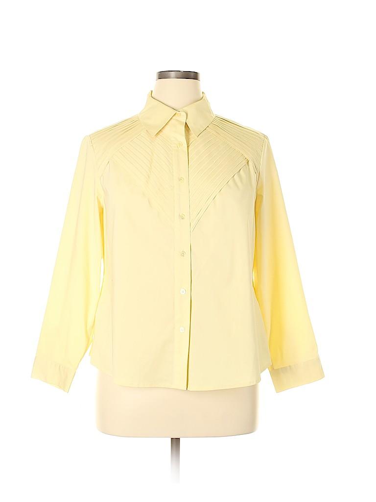Doncaster Women Long Sleeve Blouse Size 18 (Plus)