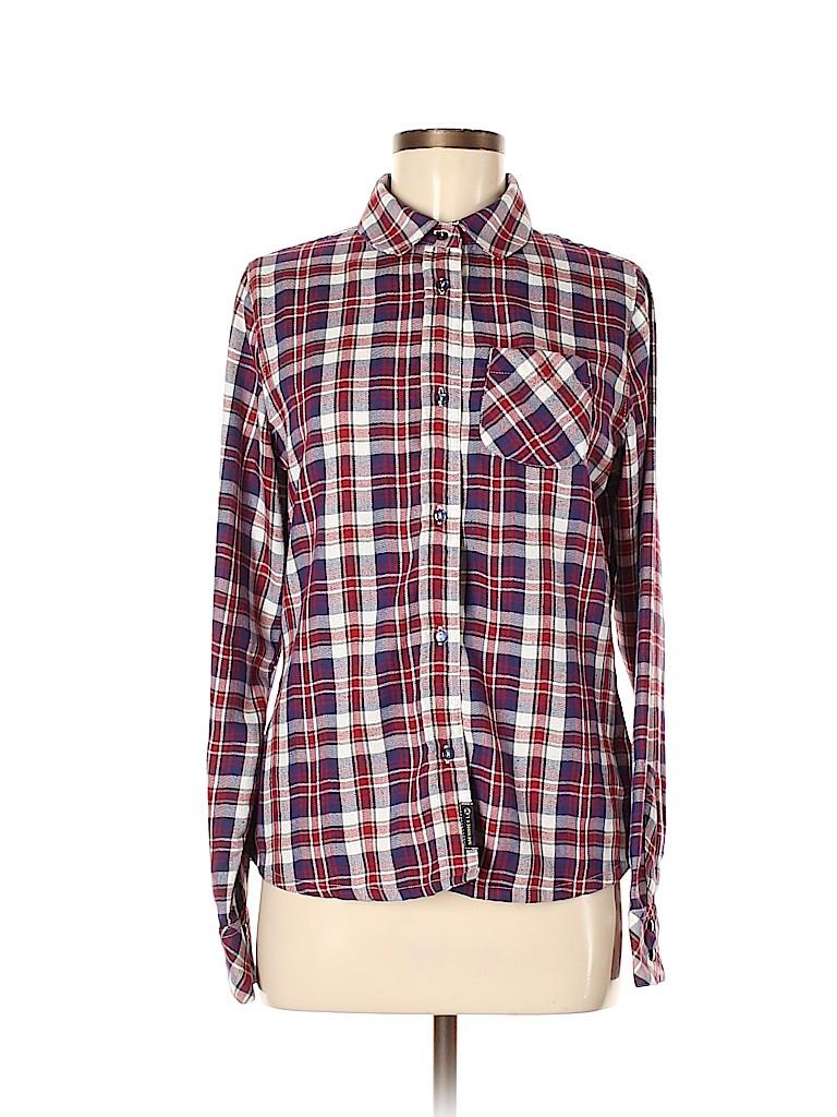 Merrell Women Long Sleeve Blouse Size M