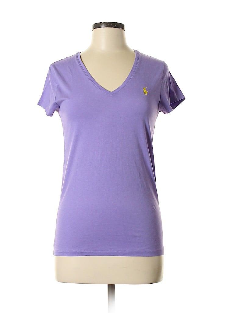Polo by Ralph Lauren Women Short Sleeve T-Shirt Size M