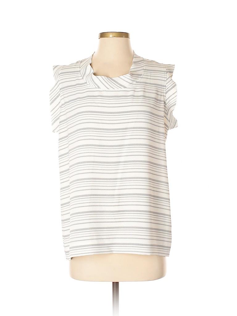 CAbi Women Short Sleeve Blouse Size S