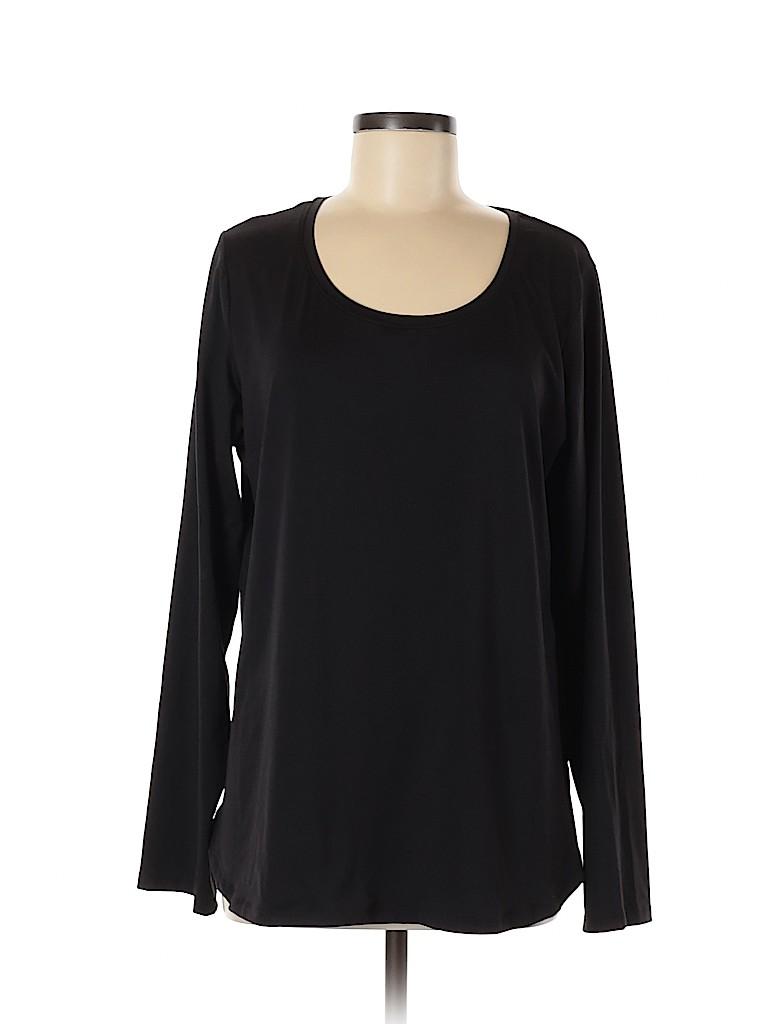 Champion Women Long Sleeve T-Shirt Size XL