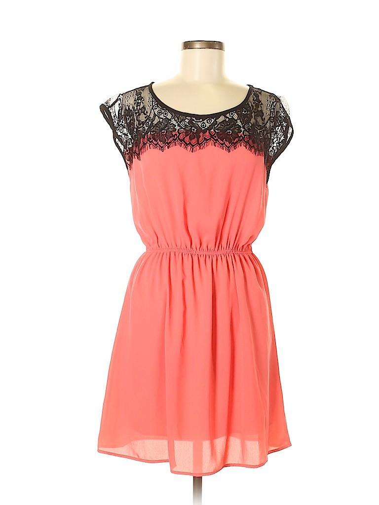 Flamingo Women Casual Dress Size L