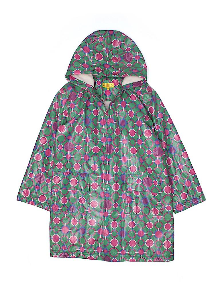 Pluie Pluie Girls Raincoat Size 7 - 8