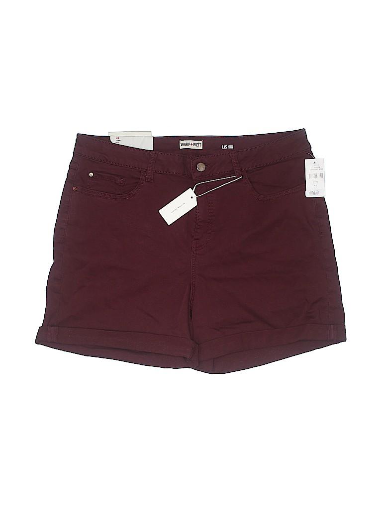WARP + WEFT Women Denim Shorts Size 16