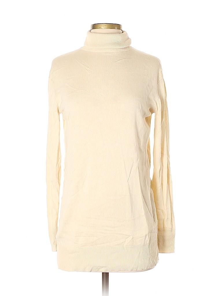 Moda International Women Silk Pullover Sweater Size S