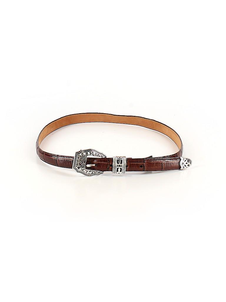 Brighton Women Leather Belt Size L