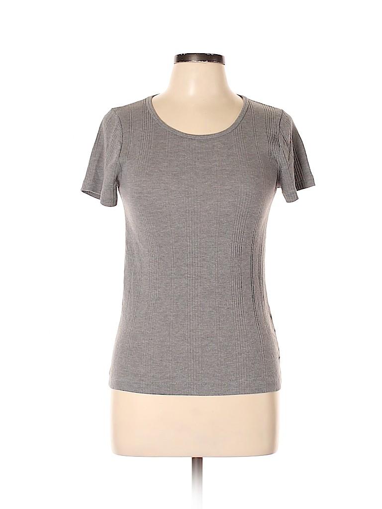 Madewell Women Short Sleeve T-Shirt Size L