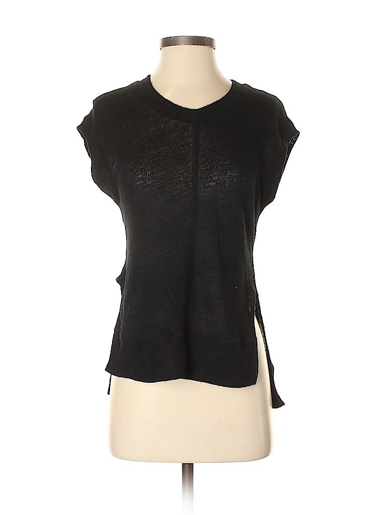 Madewell Women Short Sleeve Top Size XXS