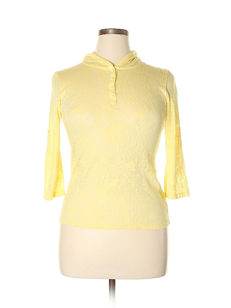 L.e.i. Women 3/4 Sleeve Henley Size XL