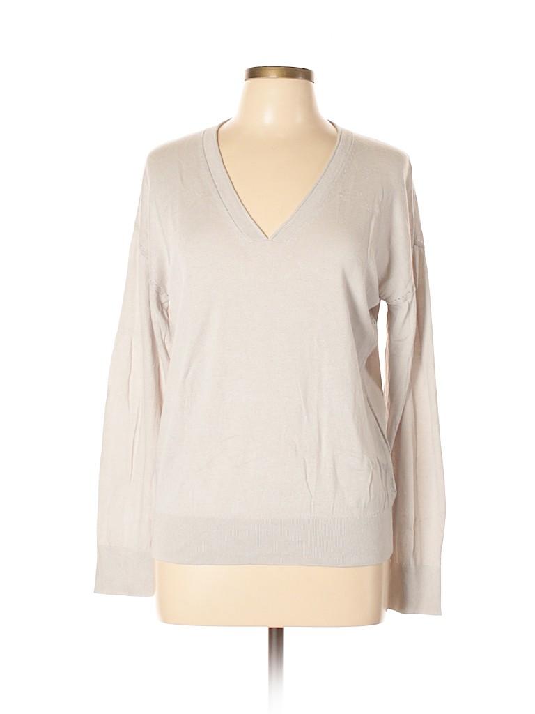 Banana Republic Women Silk Pullover Sweater Size L