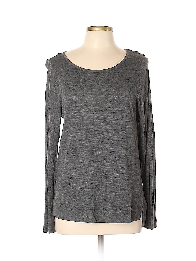 Madewell Women Long Sleeve Top Size L