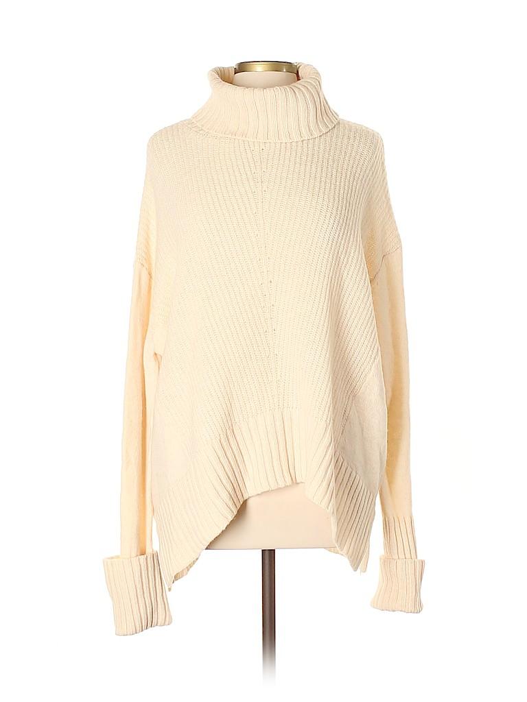 Moth Women Wool Pullover Sweater Size L