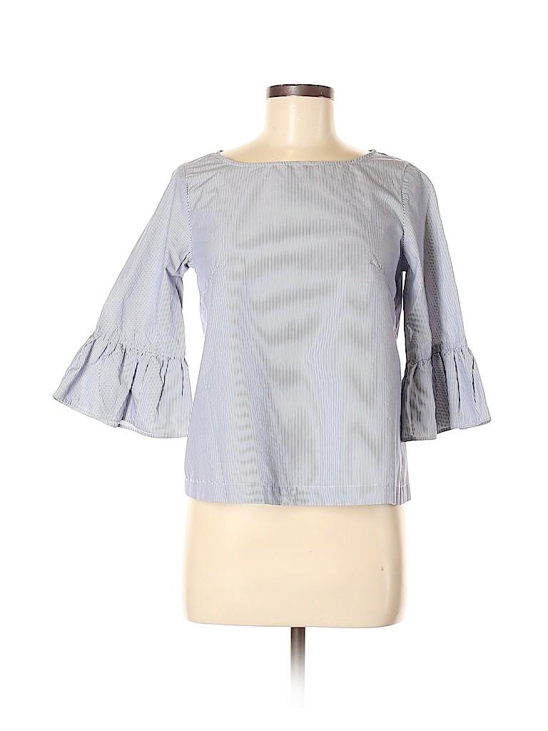 Madewell Women 3/4 Sleeve Blouse Size XXS