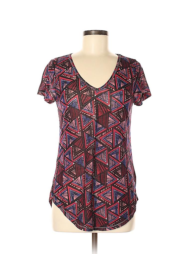 Mudd Women Short Sleeve T-Shirt Size M