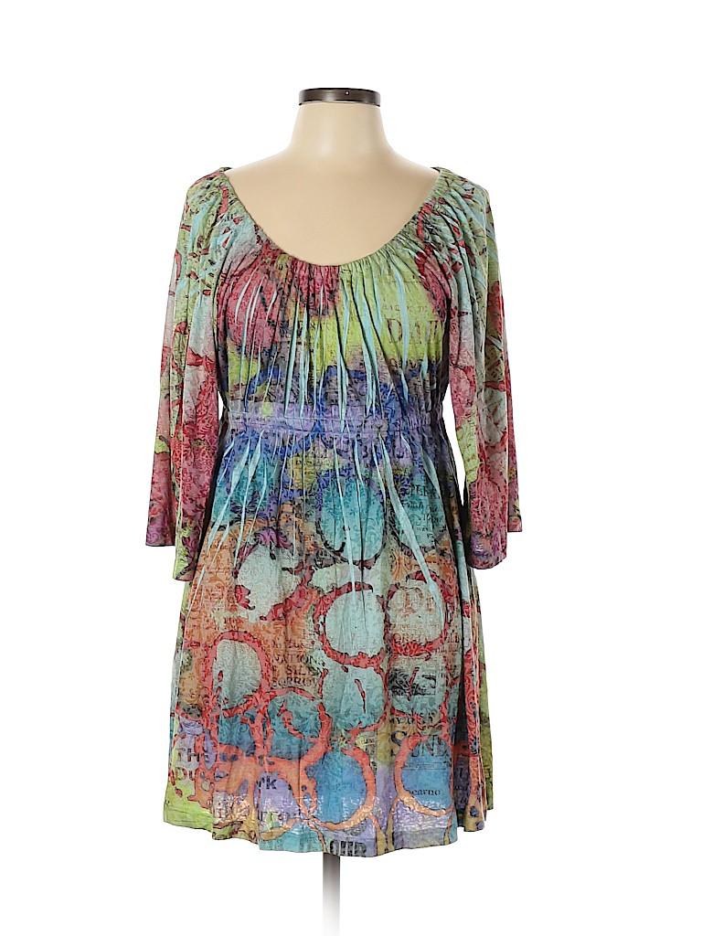 Nally & Millie Women Casual Dress Size L