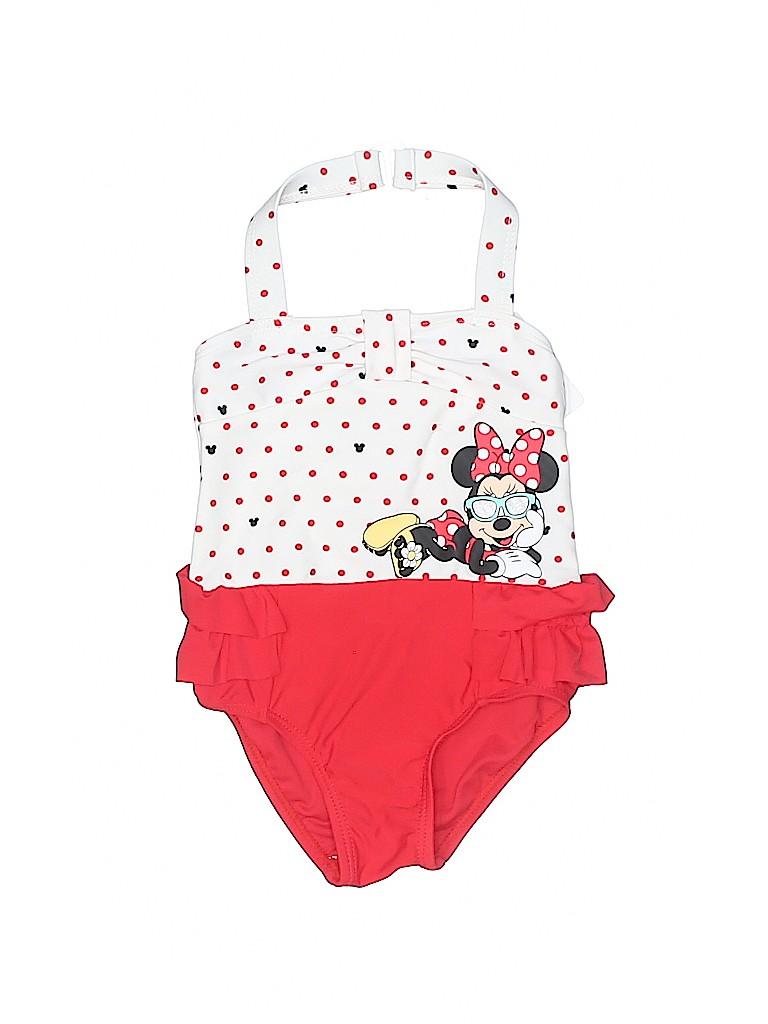 Disney Girls One Piece Swimsuit Size 3-6 mo