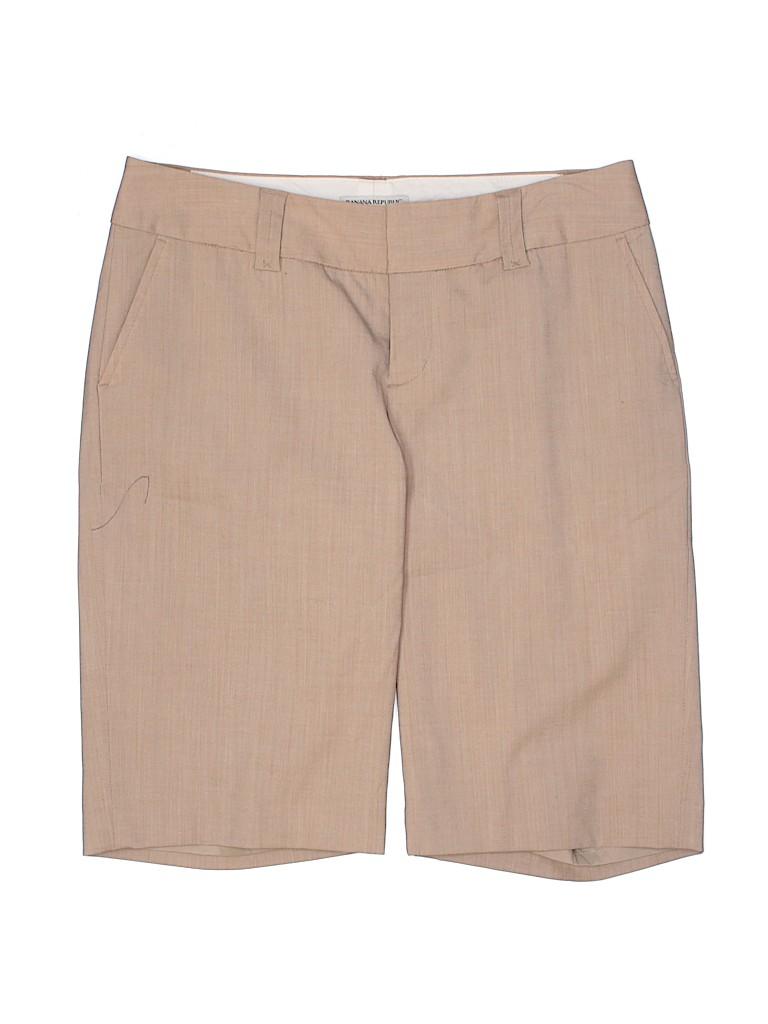 Banana Republic Women Dressy Shorts Size 4