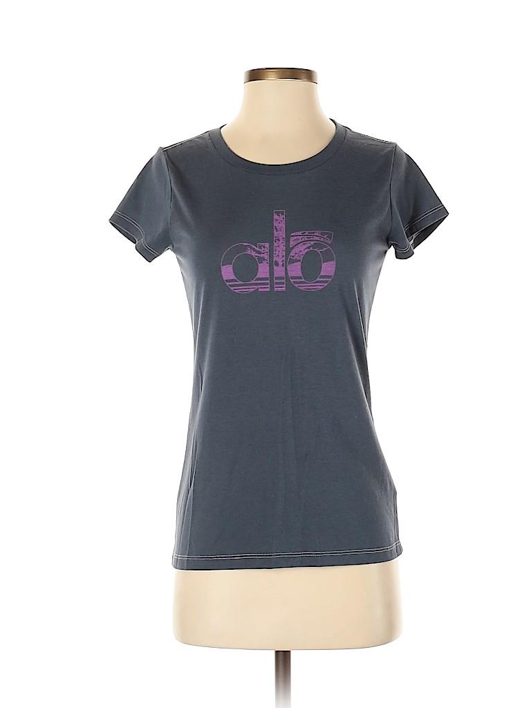 Alo Women Active T-Shirt Size S